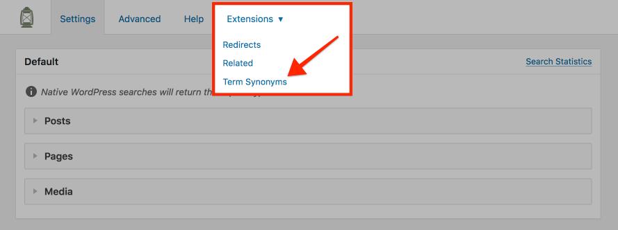 Term Synonyms Searchwp