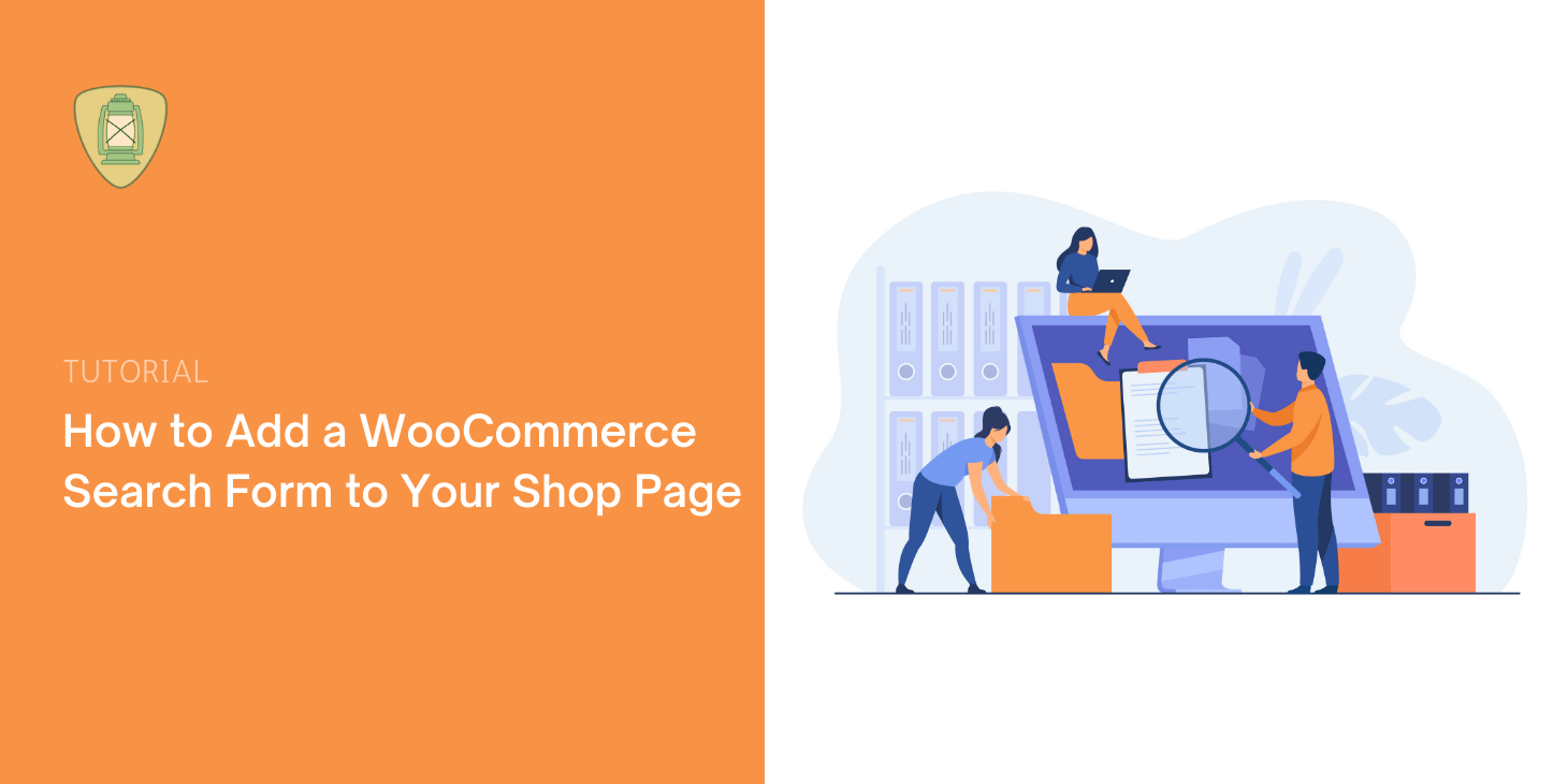 Add WooCommerce Search Form to Shop Page