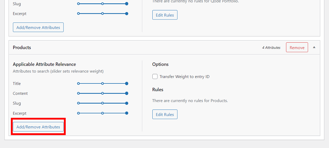 Customize WooCommerce product search attributes