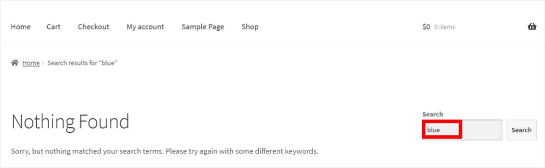 Default WooCommerce search lacks power