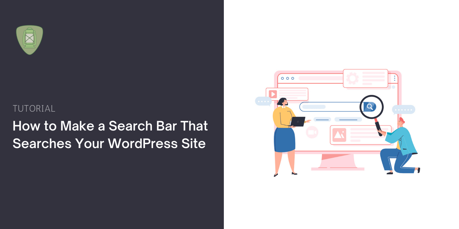 How to Make a Search Bar That Searches Your WordPress Site