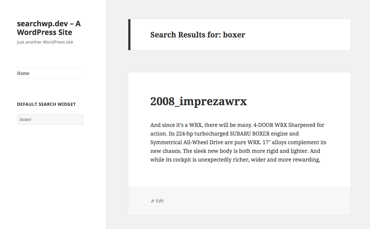 Indexer Archives - SearchWP