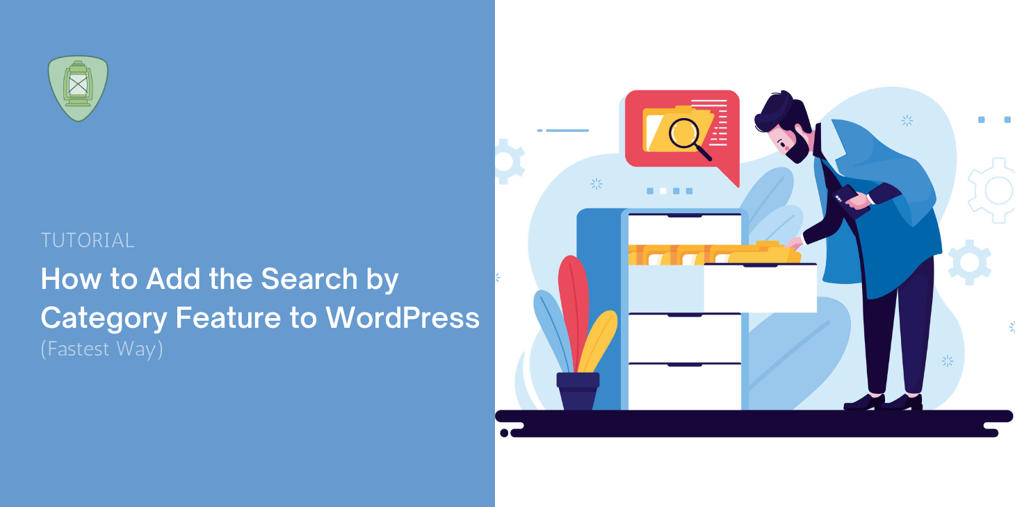 WordPress search by category
