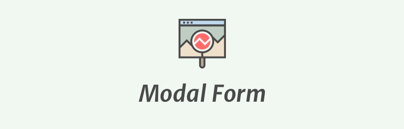 Modal Search Form