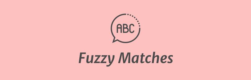 Fuzzy Matches