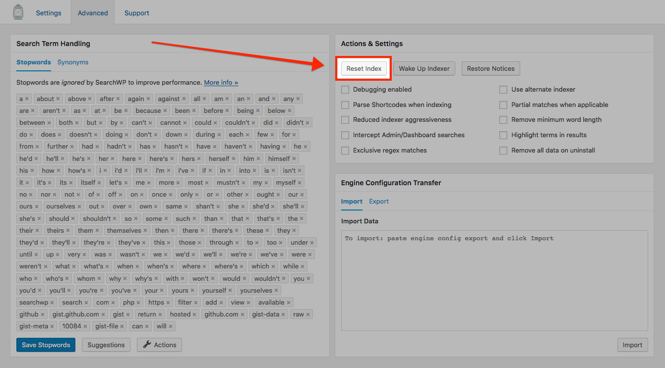 Configuration - SearchWP